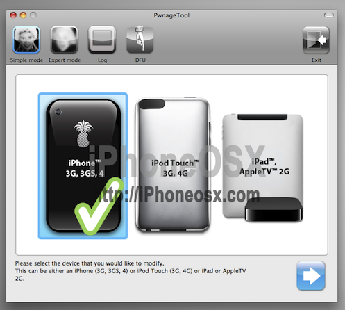 Liberar iPhone 3G/3GS con ultrasn0w y PwnageTool