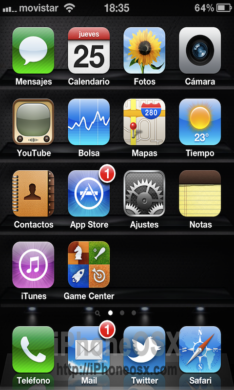 Notificaciones iPhone