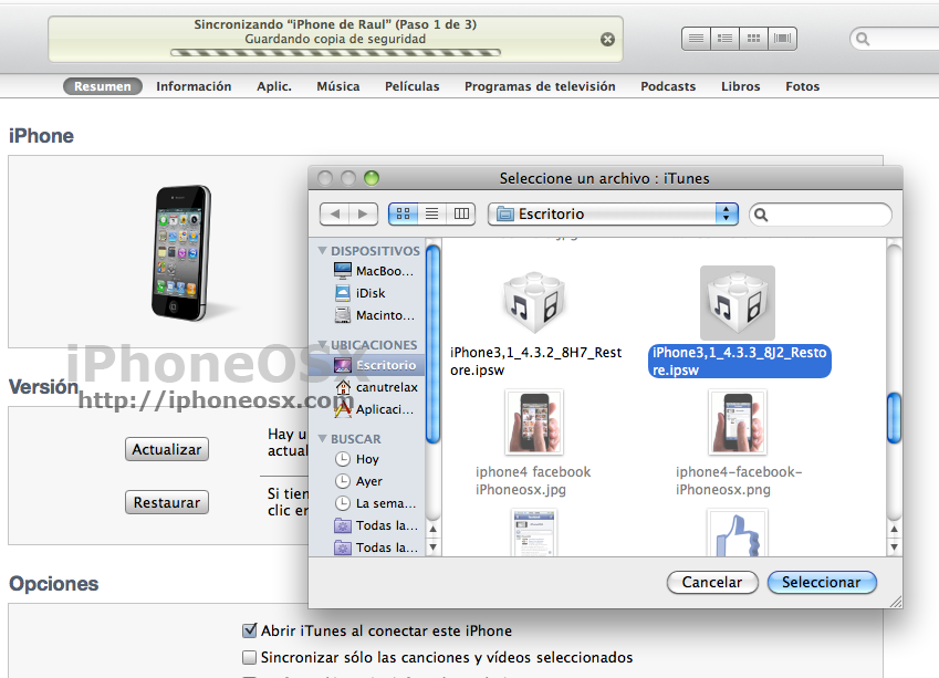 Redsn0w iTunes ios 4.3.3.png