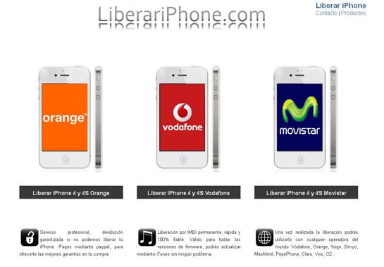 liberar iphone 4 vodafone gratis