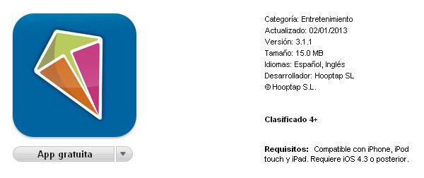 Descargar Hooptap para el iPhone