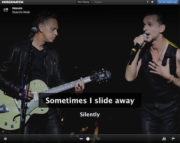 Pon letras a la música en tiempo real, incluso a las de iTunes Match