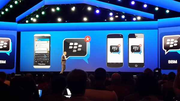Blackberry Messenger para iOS disponible este verano