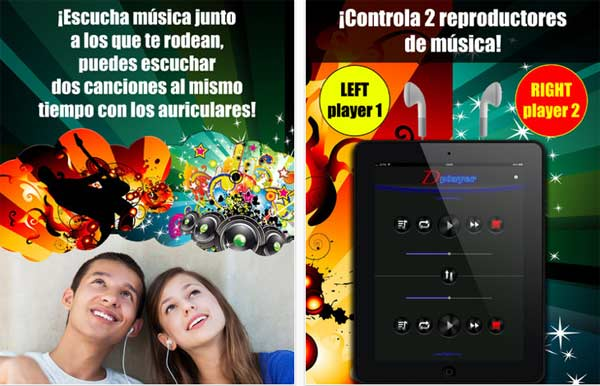 Double Music Player for Headphones Pro para iPhone
