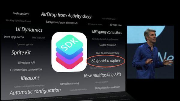 Nuevas APIs en iOS 7 y las posibles nuevas funciones de la cámara del iPhone 5S