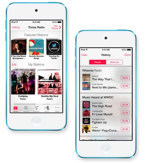 iTunes Radio: el nuevo servicio de música en streaming de Apple