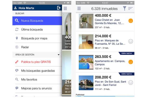Las mejores aplicaciones para buscar piso desde tu iphone for Webs buscar piso