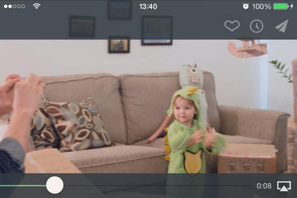 Vimeo en iOS 7