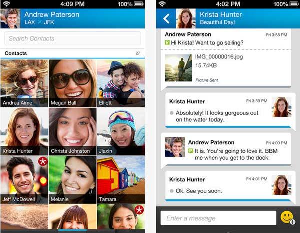 Blackberry Messenger para iPhone ya se puede descargar desde la AppStore