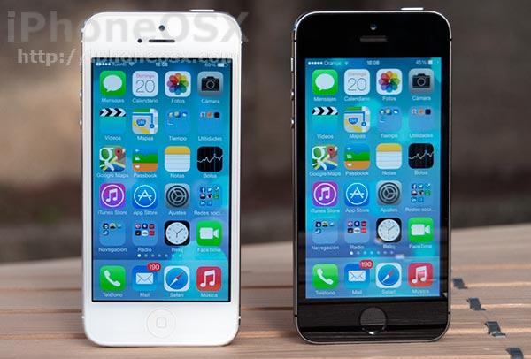 comparativa iphone se vs iphone 5s