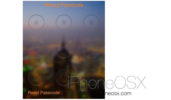 Tweak aLock4Line para iPhone