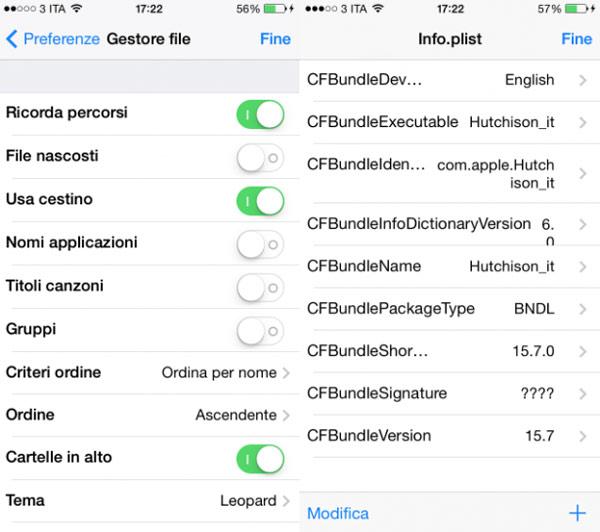 iFile se actualiza a iOS 7