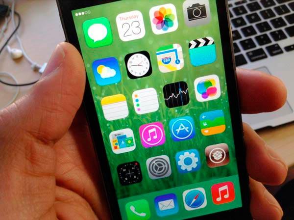 Cómo ocultar partes de la interfaz de tu iPhone en iOS 7
