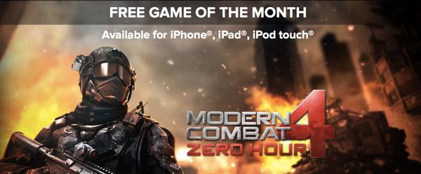 Descarga gratis el juego para iPhone Modern Combat 4