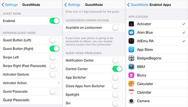 Cómo usar el modo invitado en el iPhone