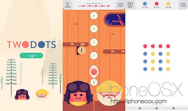 Two Dots y la adicción de los juegos sencillos en tu iPhone