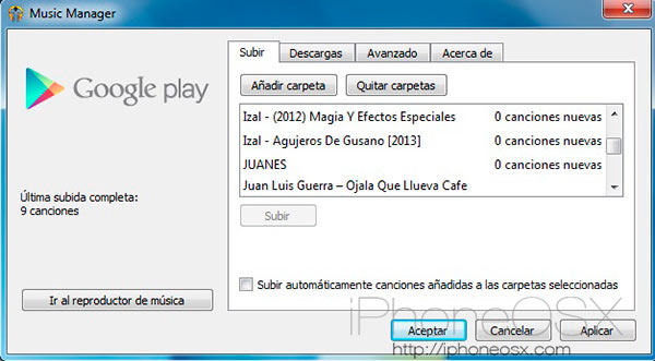 Play Music Manager