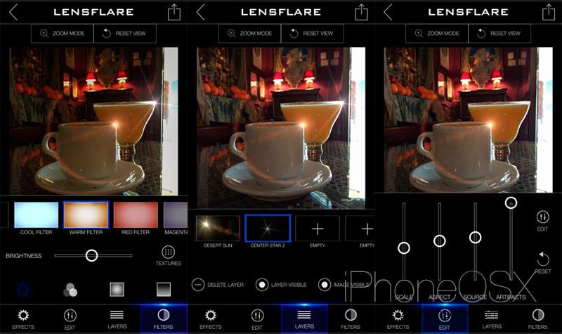 LensFlare para iOS