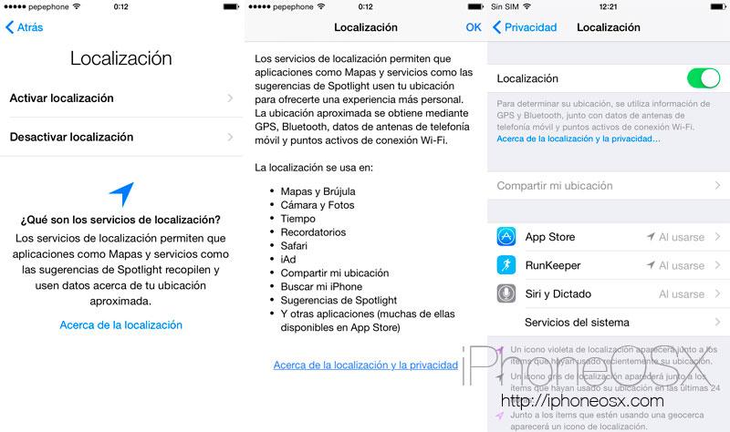 Primer contacto con iOS