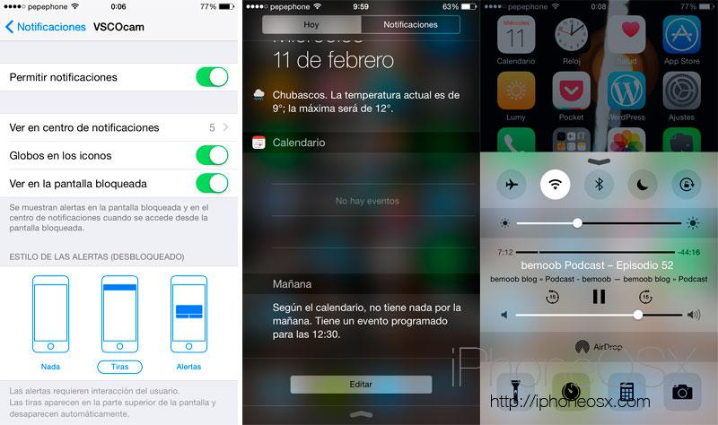 Empezar con iOS 8: conceptos y ajustes básicos